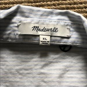 Madewell Tops - Madewell peace sign ss oxford